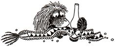 One of my favourite Moomin characters: the Ancestor!
