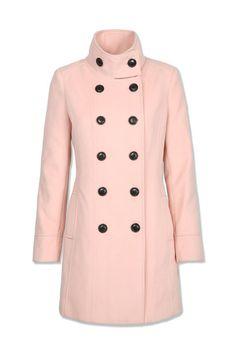 Tally Weijl - Różowy płaszcz