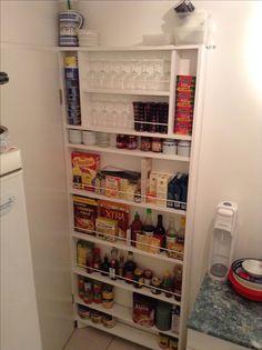 Kitchen, behind my door, 12 centimeters deep pantry (2/3)