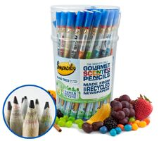 Smencils - Why?  Because Real Friends Buy you Gourmet Scented Pencils #eco #recycled