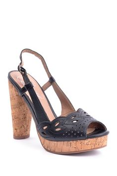 Envy Banked Platform Sandal by Pump Frenzy on @HauteLook