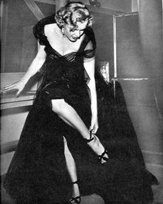 Marilyn Monroe at the 1951 Academy Awards.