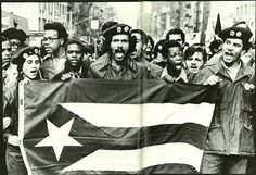Radical Puerto Rican nationalist group born in Chicago as a reformed gang, the Young Lords expanded to New York City in 1969 when a group of young New Yorkers, inspired by the Black Panthers, sought to create something similar for the city's Puerto Rican community. The group quickly made a name for itself by combining aggressive, confrontational tactics with brilliant media savvy.