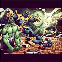 Advengers 2 vs thanos? :P