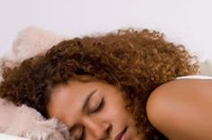 How to Sleep with Type 3 Curly Hair