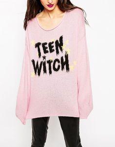 """Bild 3 von ASOS – Pullover mit """"Halloween Teen Witch""""-Schriftzug"""