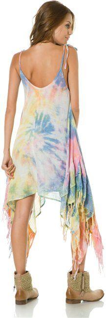 Billabong Sienna Luv tie dye dress http://www.swell.com/Womens-Apparel-New-Products/BILLABONG-SIENNA-LUV-TIE-DYE-DRESS?cs=MU @SWELL Style #tiedye
