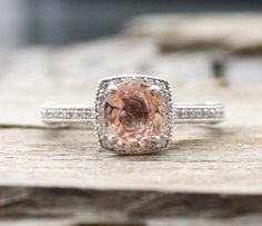 1.83 Cts. Oval Cushion Rose Peach Champagne Sapphire by Studio1040, $2774.00
