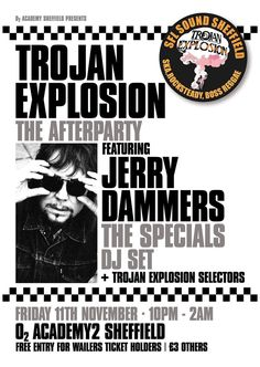 Jerry Dammers, Ska Music, Ticket Holders, Rude Boy, Free Entry, Forever Young, Reggae, Dj, My Love