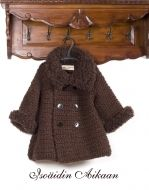 Crocheted fur coat by Isoäidin Aikaan <3 http://www.isoaidinaikaan.fi/product_info.php?cPath=71_73&products_id=267