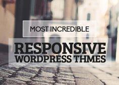 14 Most Incredible Responsive WordPress Themes #wordpressthemes #responsivedesign #wordpresstemplates #responsivethemes