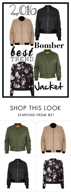 """""""Bomber Jackets"""" by pokeygirlllll on Polyvore featuring WearAll, River Island, Topshop and Phase Eight"""