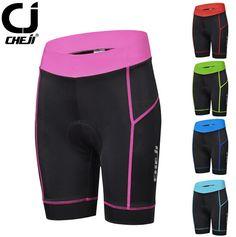 CHEJI Cycling Clothing Women's Cycling Shorts Bike Bicycle pants/Shorts GEL PAD