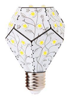 Nanoleaf One LED Lampe ersetzt 75 Watt E27 Birne, 10W 1200 Lumen 3000K warmweiß 360° 230V Schwarz, nicht dimmbar: Amazon.de: Beleuchtung