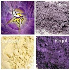 #Minnesota #Vikings #makeup #nfl #nflfaneyemakeup  www.youniqueproducts.com/wendyskorupski