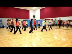 Blue Ain't Your Color - Line Dance (Dance & Teach in English & 中文) - YouTube