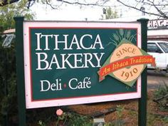 Ithaca Bakery, ithaca, NY - one of the coolest bakery/cafe's - lots of vegan options including tempeh sammys and tofu cream cheeses