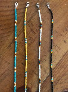 Seed Bead Necklace, Seed Bead Jewelry, Bead Jewellery, Diy Necklace, Cute Jewelry, Beaded Jewelry, Jewelry Necklaces, Handmade Jewelry, Beaded Bracelets