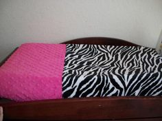 zebra changing table!