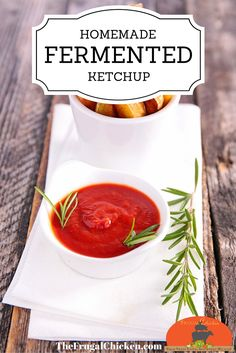 If you love ketchup, then this homemade fermented ketchup recipe is for you. If you have 5 minutes, you have time to make homemade ketchup. It's an easy way to introduce fermented foods to children! Great for summer recipes!