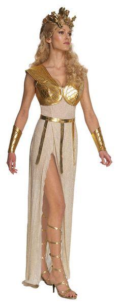 Disfraz chica Furia de Titanes. Atenea