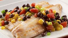 ReadySetEat - Tilapia with Black Beans and Corn - weight watchers 7  pp