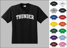 Thunder College Letters Basketball T-shirt - Thunder - Ideas of Thunder gift #Thundergift Basketball History, Basketball Gifts, Basketball Hoop, Basketball Rules, Basketball Tickets, Basketball Uniforms, Louisville College, Memphis College, Oregon College