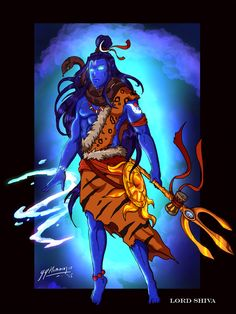 Lord Shiva - Full body Concept art by JazylH.deviantart.com on @DeviantArt