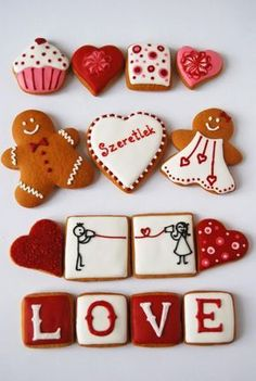 We are falling head over heels for these Valentine's Day cookies.