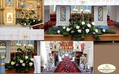 roze tuliglowy Iglesias, Table Settings, Table Decorations, Furniture, Home Decor, Altars, Weddings, Blue Prints, Decoration Home