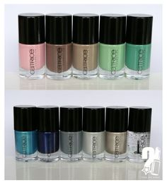 "Love this ... Dry fast ... Easy to use .... And not expensive ""Catrice nailpolish#"