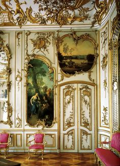 Schloss Sanssouci, music room