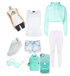 Untitled #26 by ipattonsalsman2024 on Polyvore featuring polyvore, fashion, style, St. John, F.A.M.T., adidas, MANGO, Kipling, Casetify and clothing