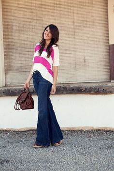 Im so happy bell bottoms are back, though I still need to get a pair!