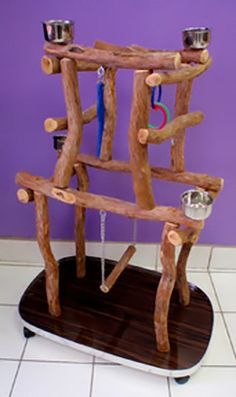 Not sure why these have to be so freaking expensive!! Large Rolling Dragonwood Play Stand