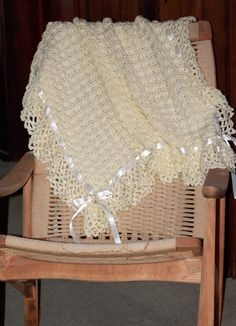 My Crochet...............Crocheted Baby Afghan  - have used this pattern several times