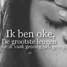 Ik ben okee Angst Quotes, Words Quotes, Me Quotes, Qoutes, Motivational Quotes, Sayings, Negativity Quotes, Stress Less, Just Be You