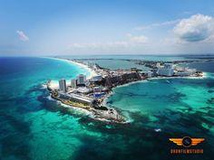 Qué tal esta panorámica de Cancún?