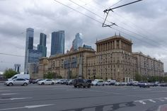 Kutuzovsky Avenue and Moscow city district