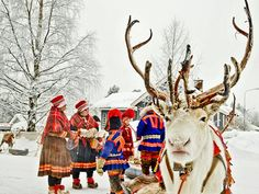 Jokkmokk Sámi market in Swedish Lapland – in pictures Every February, the small town of Jokkmokk in Swedish Lapland hosts the winter market of the indigenous Sámi people, with folk dancing, reindeer races and traditional food