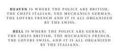 16 myths about the Swiss