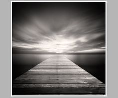Black And White Photograph, Cape Cod - Pinhole Photograph - beach photo,  Wood Pier - 10 x 10 Photo on Etsy, $30.00