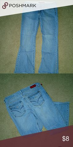 Size 13 Firesans jeans Very cute. These have been trimmed because they were too long. firesans Jeans Straight Leg