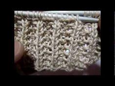 Apprendre a tricoter la cote anglaise