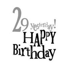 Happy birthday to me! :-)