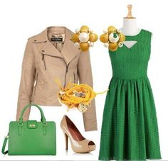 Emerald green dress inspiration. 5 gorgeous options! Love itPin it! | Big Fashion Show emerald green dress