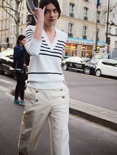 Street Muses...Sonia Rykiel Autumn/Winter 2015...PFW, Paris