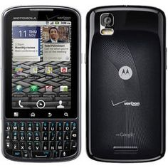 Motorola Droid Pro XT610 Unlocked GSM Phone with Android 2.2 OS, 5MP Camera, Wi-Fi and GPS – Black
