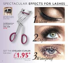 Oriflame Catalogue | Oriflame Cosmetics Oriflame Cosmetics, For Lash, Eyelash Curler, Curlers, Mascara, Eyelashes, Catalog, How To Apply, Hoop Earrings
