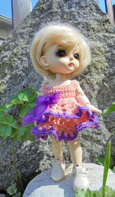 Outfit for Yellow Lati 1/8 dress + sweater